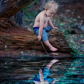 reflect by Wendy Berning - Babies & Children Child Portraits ( #baby, #child, #love, #boy, #reflect )