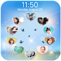 love circle lockscreen APK for Bluestacks