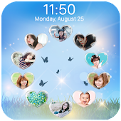 love circle lockscreen APK for Bluestacks