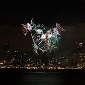 2013 Enters with a Bang by George Krieger - Public Holidays New Year's Eve