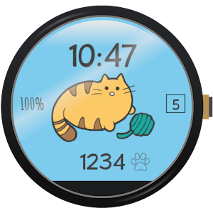 Cover art Fit Cat - Watch Face