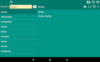 Screenshot of French Braz.Portuguese Dict