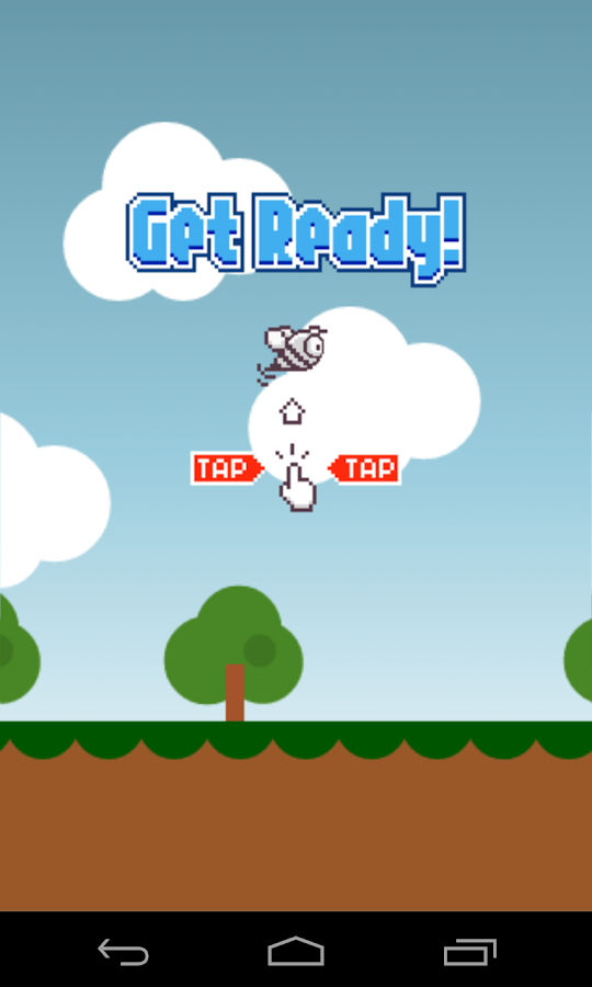 Flappy Bee Screenshot 1