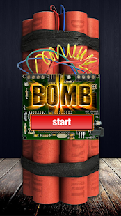Time Bomb Crack Screen Prank