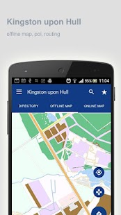 Kingston upon Hull Map offline - screenshot