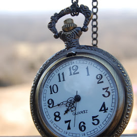 Time is Ticking by J. L. Cheyenne - Artistic Objects Jewelry ( time, pocket watch, clock, still life, jewelry )