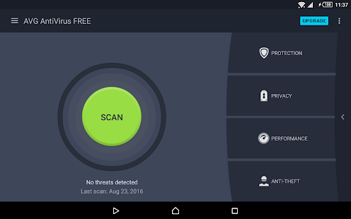 AVG AntiVirus FREE for Android Security 2017 Screenshot