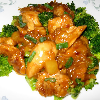 Honey Sesame Pineapple Chicken
