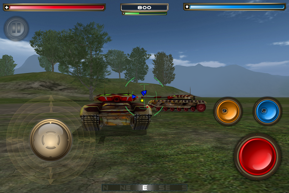 Tank Recon 2 Screenshot 1