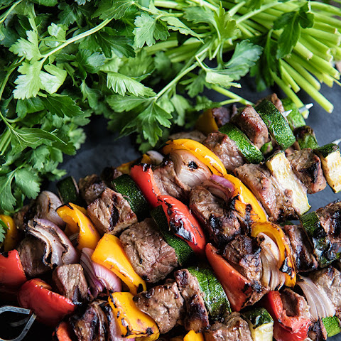 Simple Beef Shish Kabobs