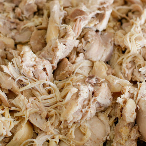 Perfect Shredded Chicken {In the Crock-Pot OR the Pressure Cooker}