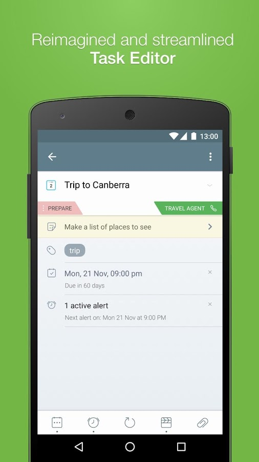 2Do - Reminders & To-do List Screenshot 1