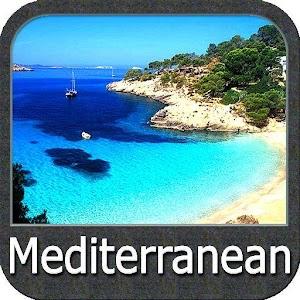 Cover art Mediterranean gps navigator