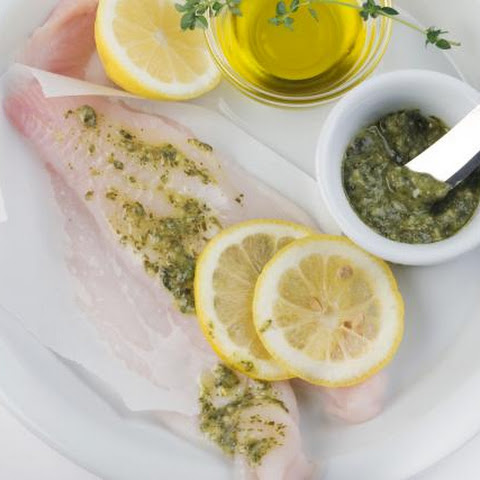 Baked Flounder With Lemon