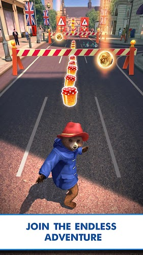 Paddington™ Run: Endlessly fun adventures Android App Screenshot
