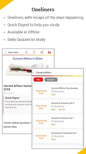 Latest Current Affairs & GK in English & Hindi Screenshot