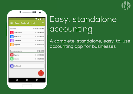Book Keeper AccountingInvoice Accounting Invoices Expenses - Invoice app for android phone