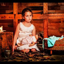 Make Believe by James Eickman - Babies & Children Child Portraits