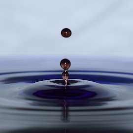 Waterdrop by Tahir Sultan - Abstract Water Drops & Splashes ( #water, #nikon, #waterdrop )