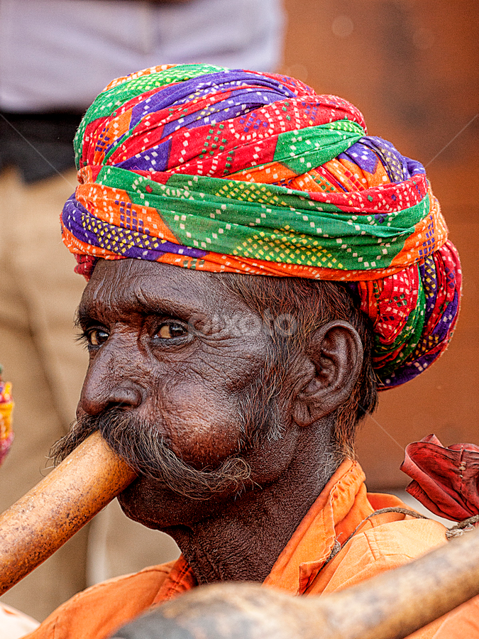 by Bharat Dudeja - People Portraits of Men ( indian, men, portrait )