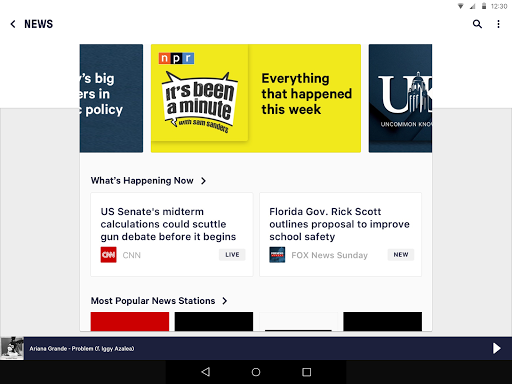TuneIn: Stream NFL Radio, Music, Sports & Podcasts screenshot 14