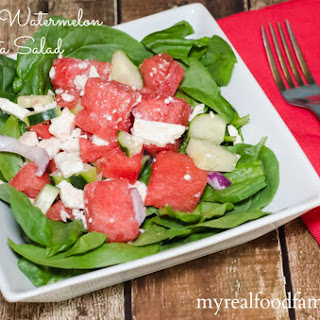Watermelon Spinach Salad Recipes