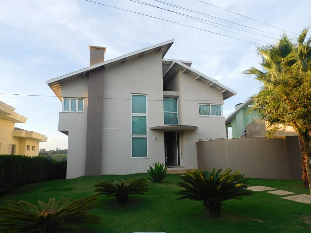 [Casa no Condomínio Quartier, c/ AC 480 m2 e AT 1126 m2  - Jundiaí/SP]