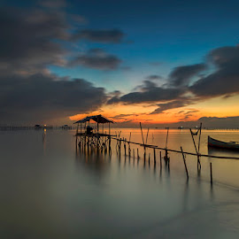 bagan by Shee Ronny - Landscapes Sunsets & Sunrises ( sky, nature, blue, indonesia, sunset, sunrise, beach, landscapes )