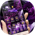 APK App Purple Rose Gold Theme for BB, BlackBerry