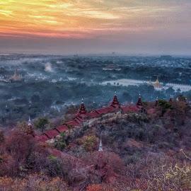 Mandalay Hill by Arkar Tun Kyaw - Landscapes Mountains & Hills