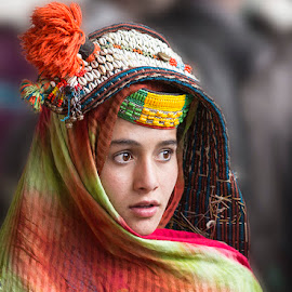 Sohni by Abdul Rehman - People Portraits of Women ( pakistan, colorful, innocent, beautiful, kalash, chitral )