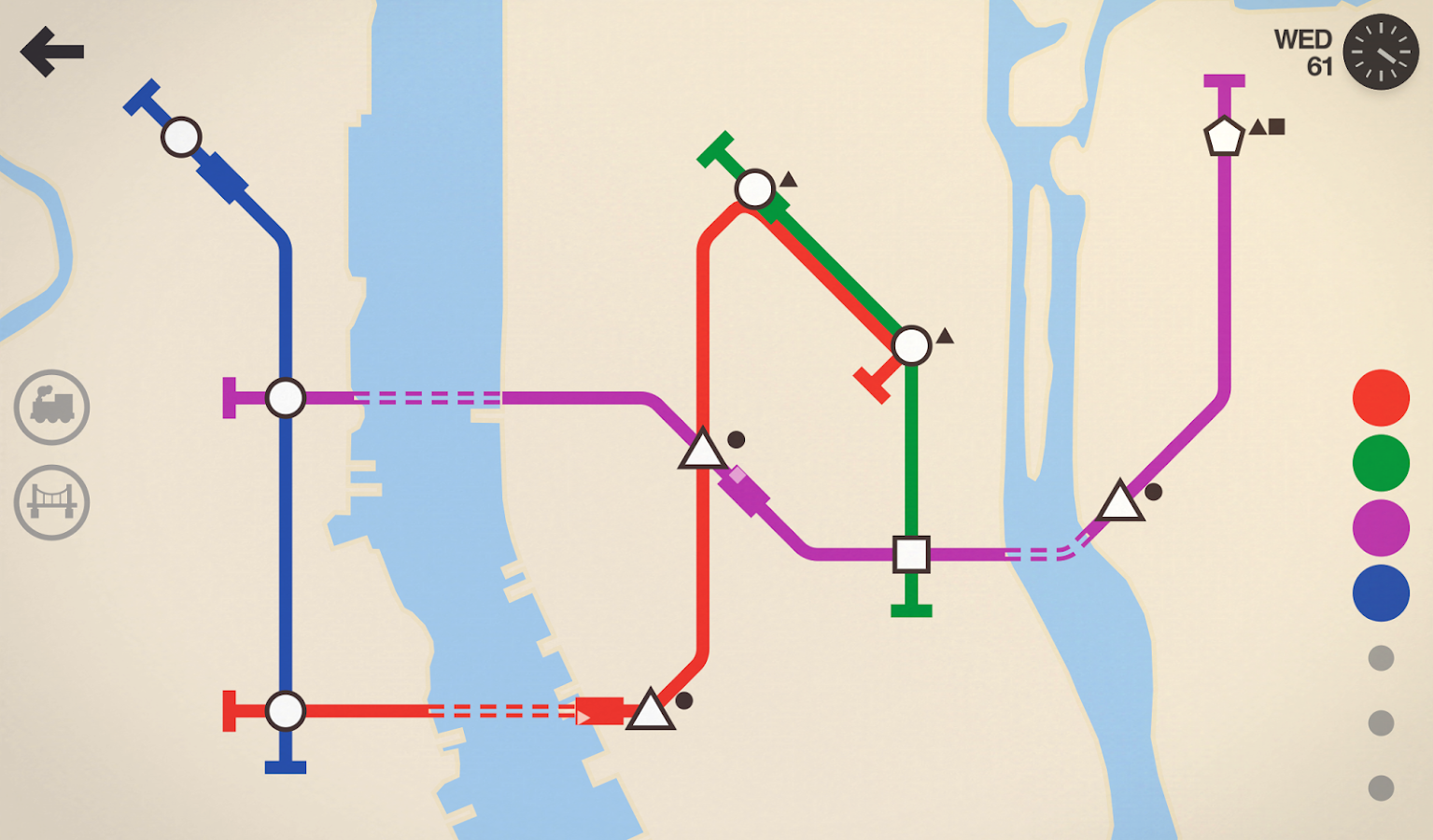 Mini Metro Screenshot 0