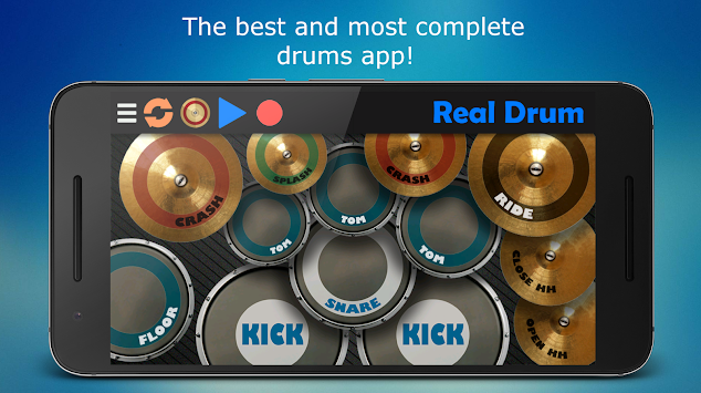 Real Drum APK screenshot thumbnail 1