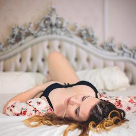 Ashley by Stephanie Espinoza - Nudes & Boudoir Boudoir