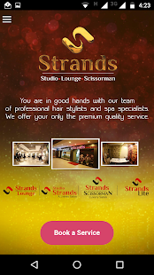 Strands Salons - screenshot