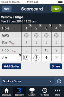 Willow Ridge GCC - screenshot