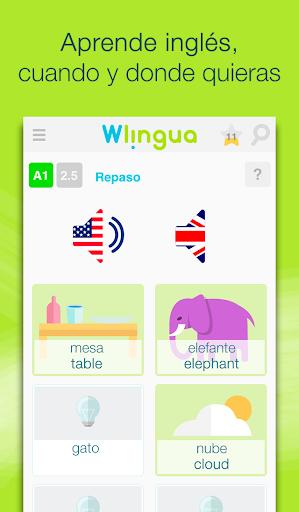 Aprender inglés con Wlingua screenshot 1