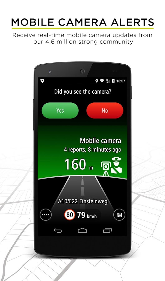 TomTom Speed Cameras Screenshot 1