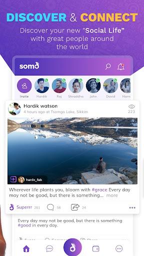 SoMo - Social Mobile screenshot 2