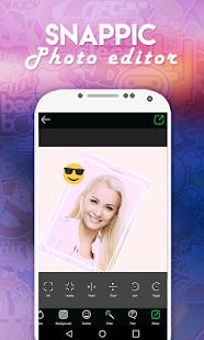 Photo Editor for SnapPic - screenshot