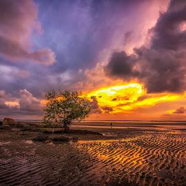 Just me..... by Aidan Hasmadi - Landscapes Sunsets & Sunrises