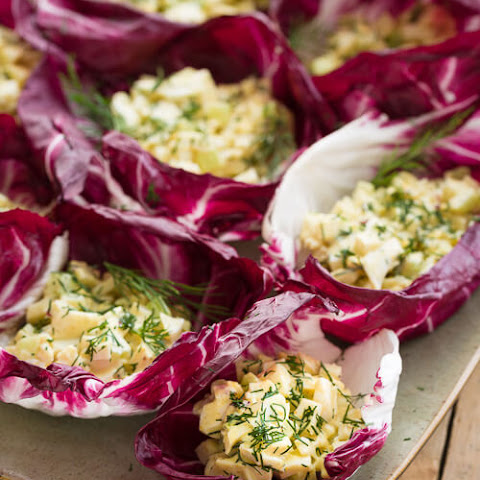 Deviled Egg Lettuce Wraps