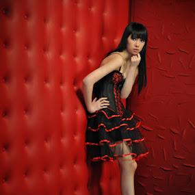 Red Corner by Po Cin Tjam - People Fashion