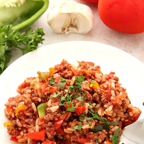 Stuffed Pepper Rice Skillet