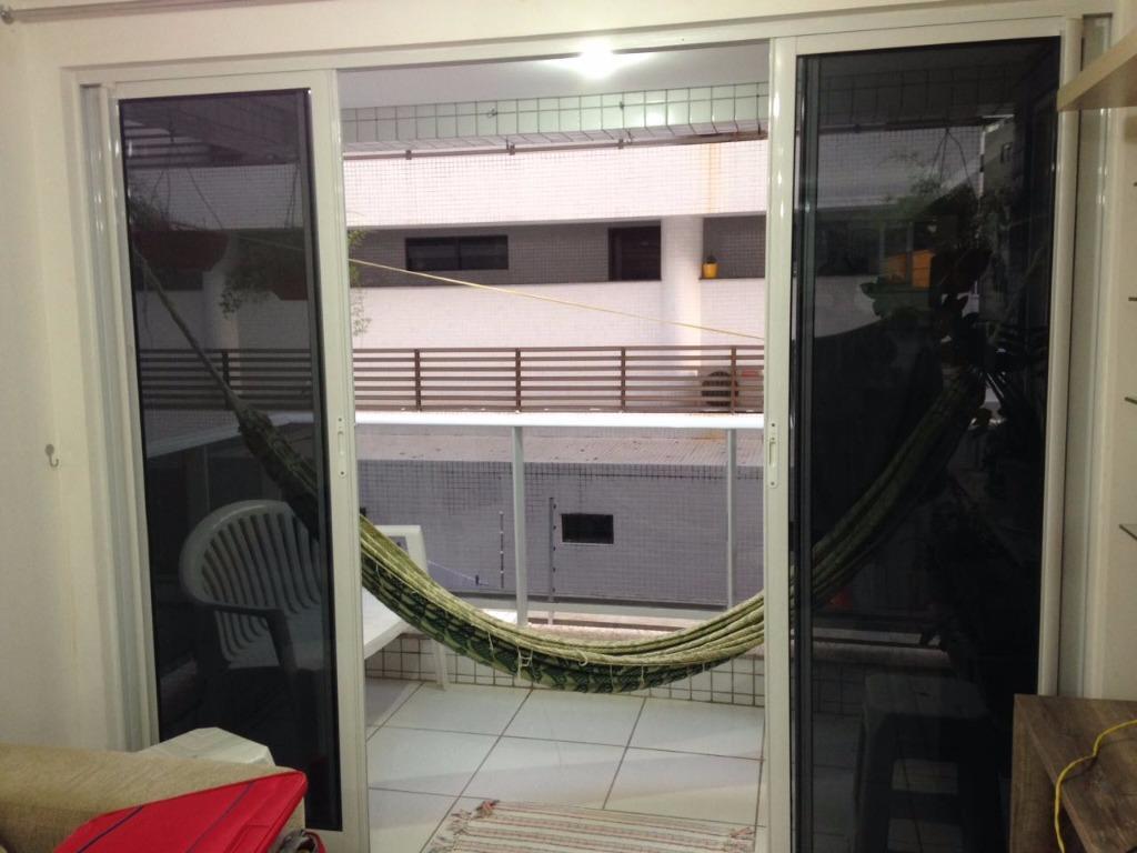 Ap 1 dormitório na beira mar de Cabo Branco