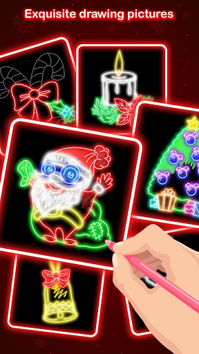 Learn to Draw Glow Christmas For PC