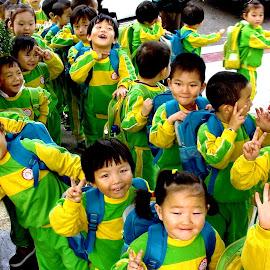 Happy day by Soewandi Chan - Babies & Children Children Candids