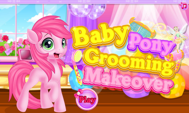 android Baby pony grooming makeover Screenshot 13