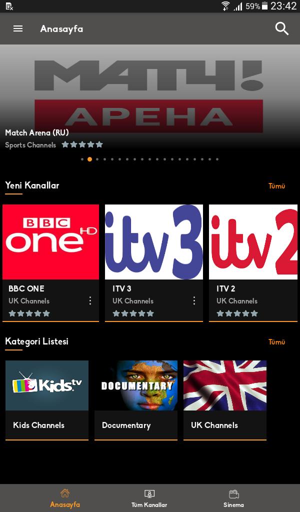 Mobil Android TV Screenshot 5