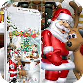 Free Merry Christmas Santa theme 3D APK for Windows 8